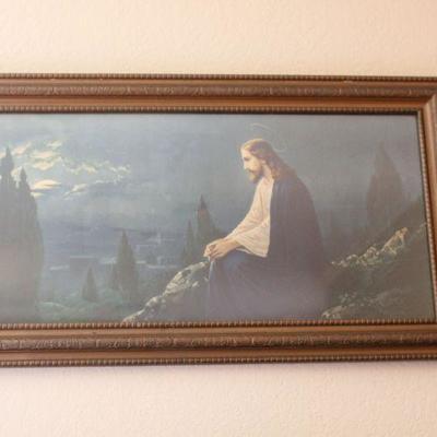 Lot 2 Religious Framed Art