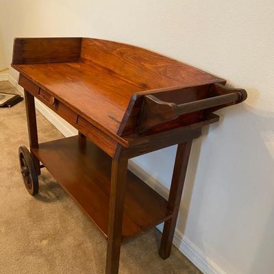 Vintage Wood Cart