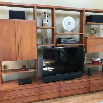 Gorgeous Handcrafted Wall Unit