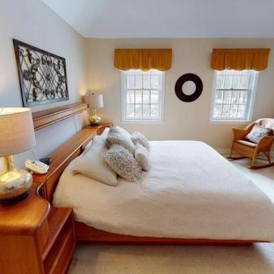 SOLD Mid Century King Size Bedroom Set