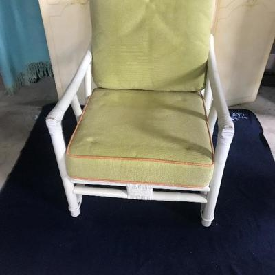 Ficks Reed Mid Century Modern Club Chair Estatesales Org