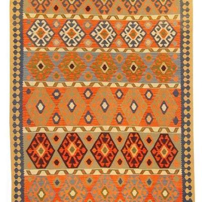 Fine quality, Persian, Ardebil  Hand Knotted Kilims, 9'2