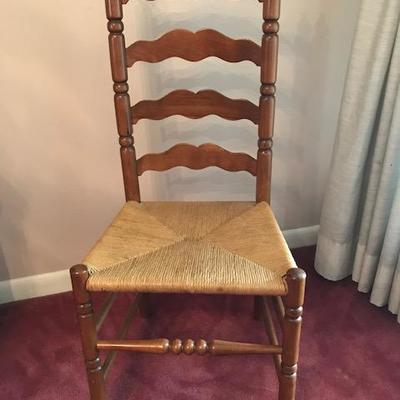 (Lot 2) vintage Tell City Ladderback chairs