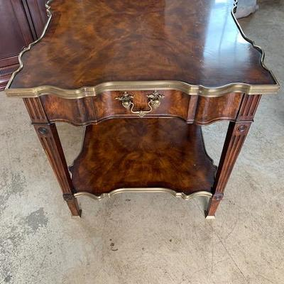 THEODORE ALEXANDER TIERED SIDE TABLE 26