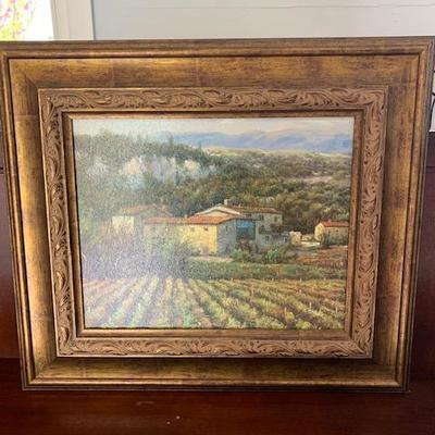 TUSCAN VINEYARD PRINT 30