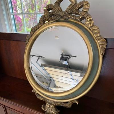 OVAL DECORATIVE MIRROR $75