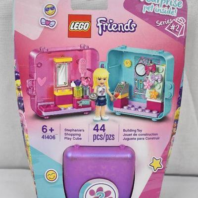 Lego 41406 LEGO Friends Stephanie's Shopping Play Cube 41406 Building Kit