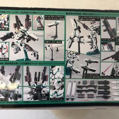 Brand New Ban Dai RX-O Full Armor Unicorn Gundam Full Psyco-Frame Prototype Mobile Suit