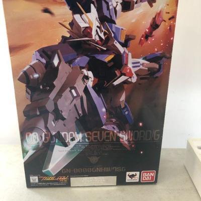 Ban Dai OO Gundam Seven Sword/G Metal Build Like New in original box