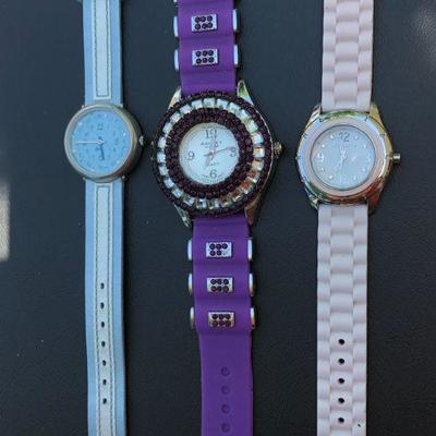 3 Fun Casual Wear Ladies Watches