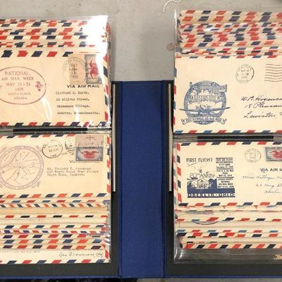 77 Original Air Mail Post First Flight 1930s Aviation Airplane First Day Covers