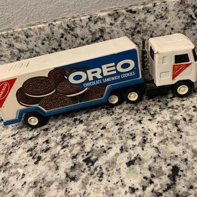 Vintage Oreo toy truck