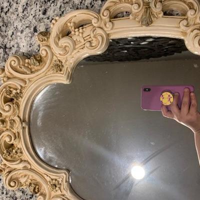 Vintage mirror.
