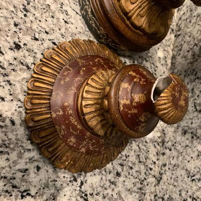 Large antique urns with lids
