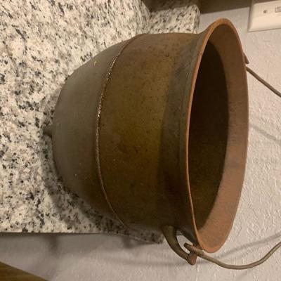 Antique Cast iron cauldron