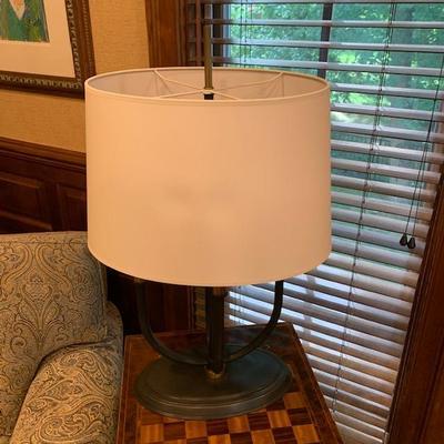DECORATIVE TABLE LAMP $150