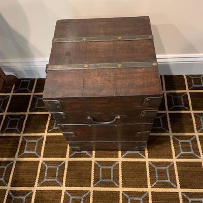 DECORATIVE WOOD BOX $50