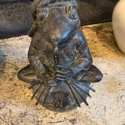 MAITLIN SMITH FROG STATUE $150