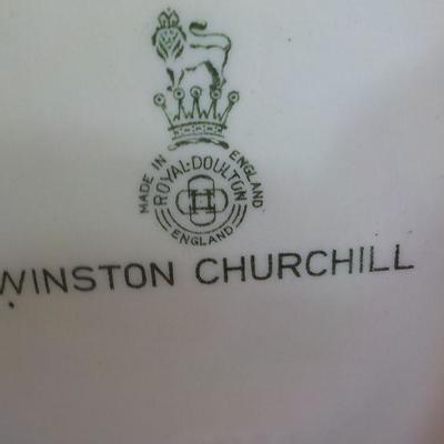 Winston Churchill by Royal Doulton.
