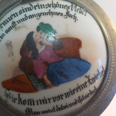Glass Vintage German Stien from Europe, rare.