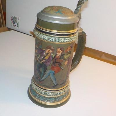 Real German STEIN , 1940's. Hand made.