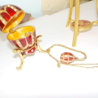 Faberge Eggs and art deco...