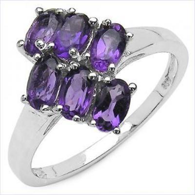 Amethyst Ladies Ring     4