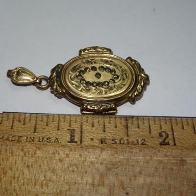 Victorian Gold Plated Locket