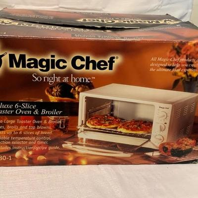Magic Chef Toaster Oven and Broiler