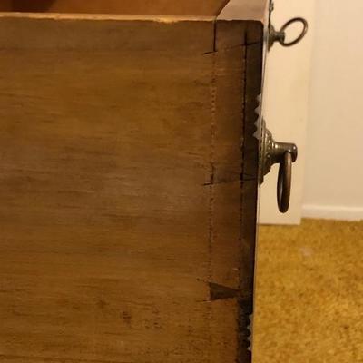 Antique Dresser with Tilting Mirror