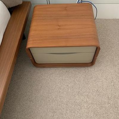 Ligne Roset CEMIA by Peter Maly Walnut Night Stand 12