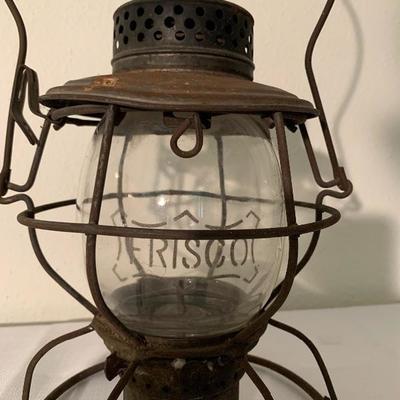 Frisco Vintage Railroad Lamp