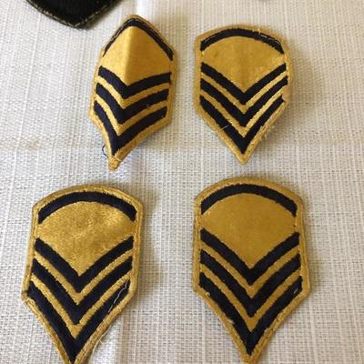 21 WWII Military Patches
