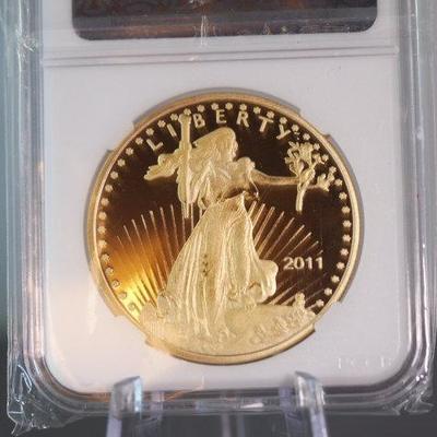 2011 Gold Coin 9