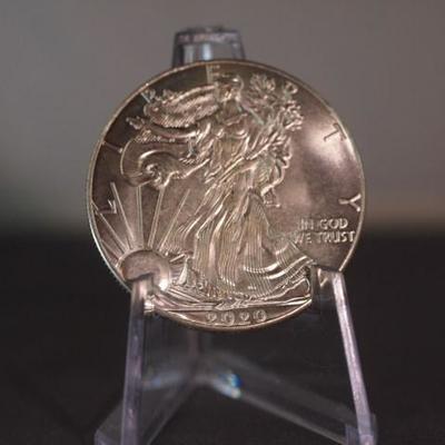 2020 Silver American Eagle  10