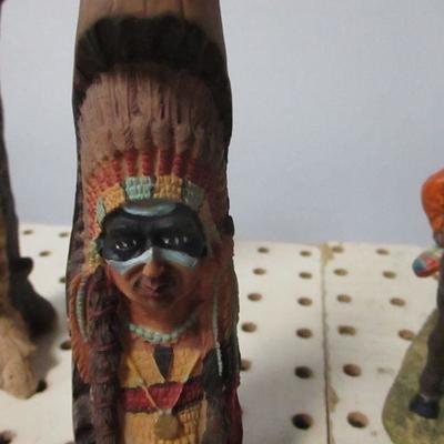 Lot 5 - Native American Figures
