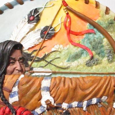 Lot 7 - Native American Wall Displays