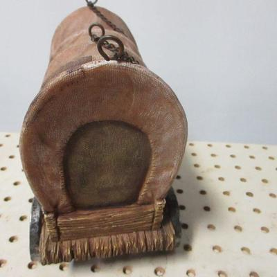 Lot 8 - Native American Items  - Wagon - Canoe