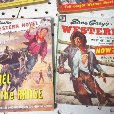 Lot 9 - Lone Ranger - Zane Grey's - Western Novels