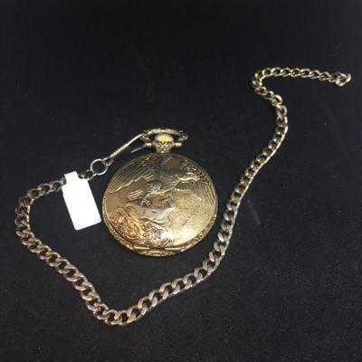 USA Half Dollar Pocket Watch