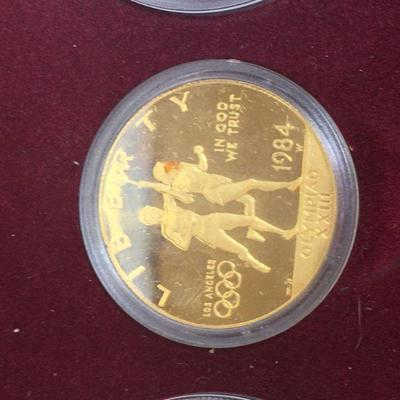 1983-1984 Olympic Coins