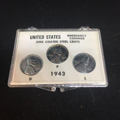 US Zinc Coated Steel Cents