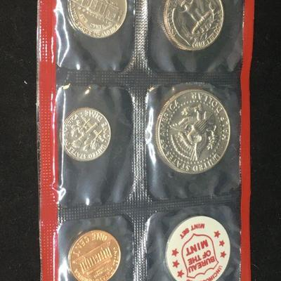 Mint Set of Uncirculated US Coins 4