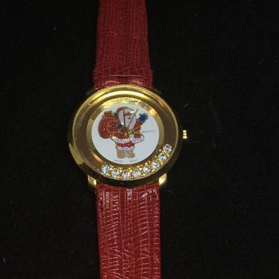 Holiday Rhinestone Wrist Watch