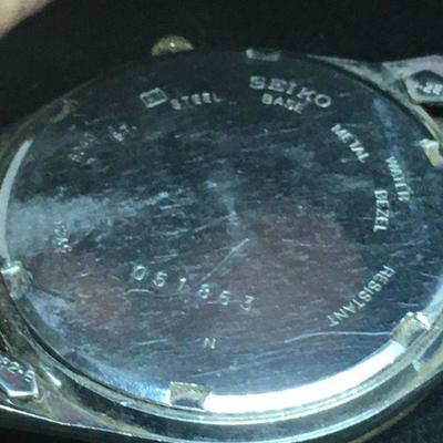 Seiko Men's Wrist Watch