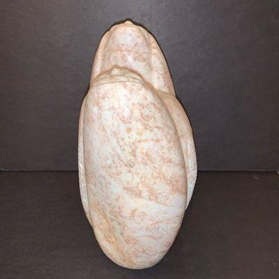 Native American Alabaster Sculpture by Harvey Bearshield Russell-
