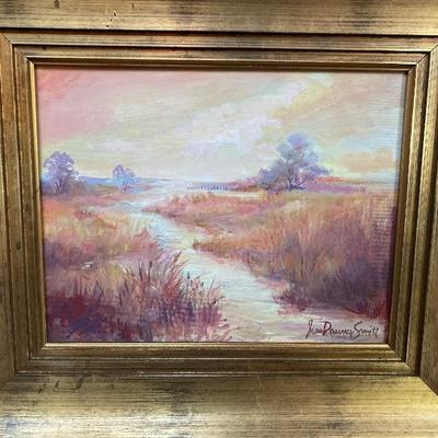 107: Original Oil on Canvas Landscape by Jean Ranney Smith