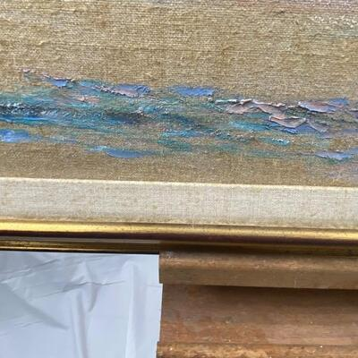 122: Original Oil on Canvas of Landscape by Jean Ranney Smith
