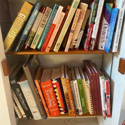 131: Lot of Various Cookbooks
