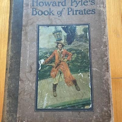 135: Antique Book of Pirates by Howard Pyles 1921